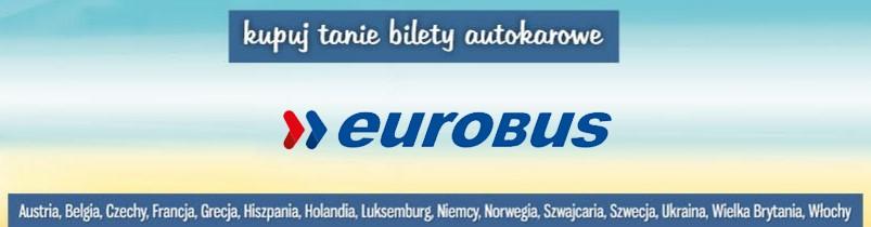 Tanie bilety autokarowe Eurobus online