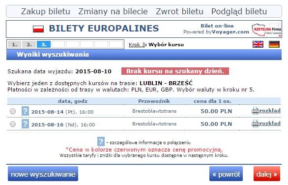Autokary PKS Białoruś